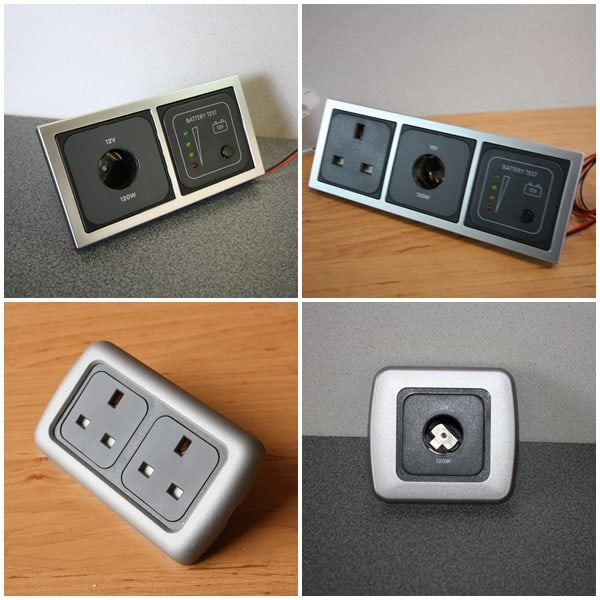 12V and 240V Sockets and Switches
