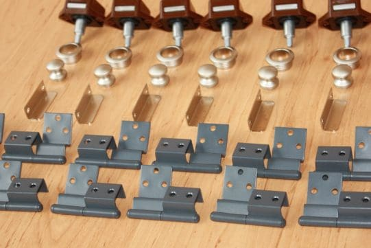 Latch and hinge kit