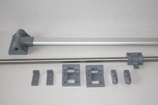 table leg and rail