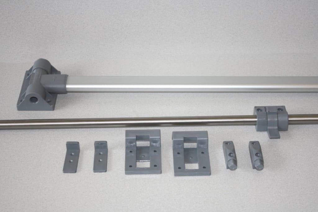 Campervan Table Kit Comet Slimline Leg And Rail Set