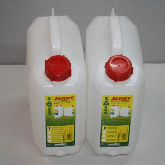 2 x 10L water container
