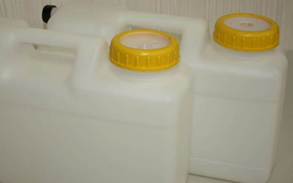 2 x12L water container