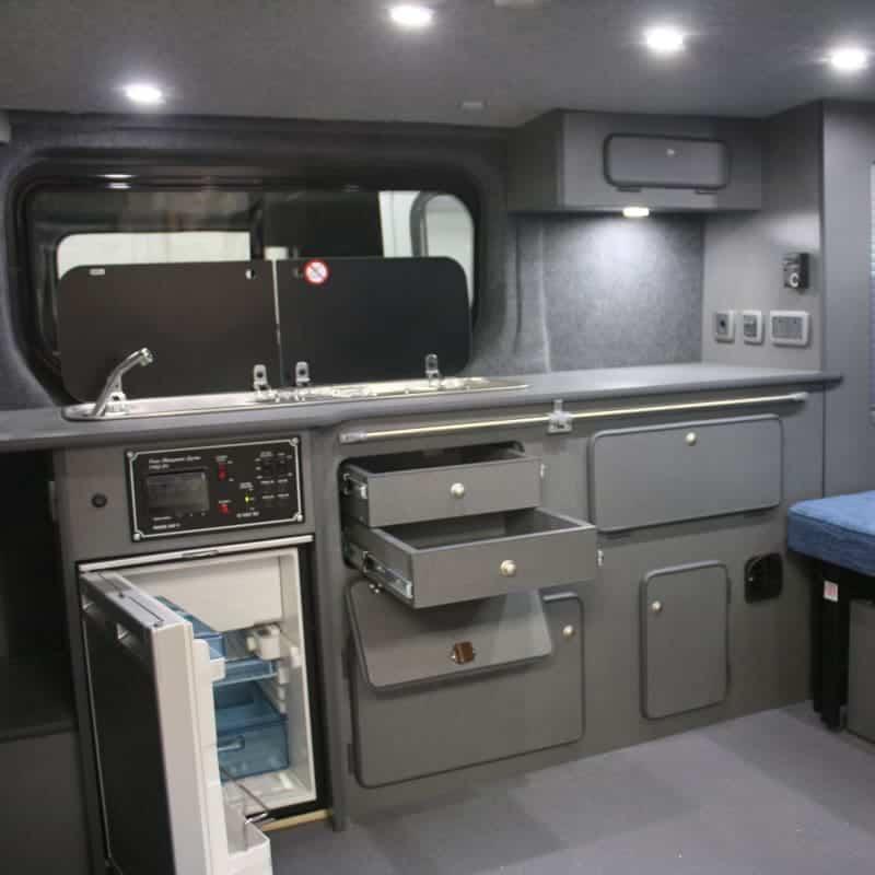 Vauxhall Vivaro Campervan Clearcut Conversions