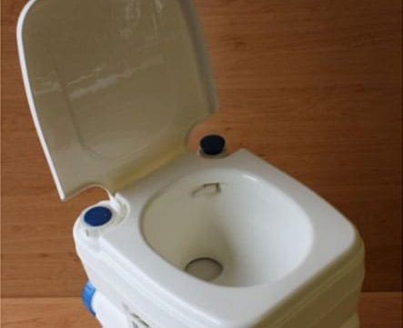 Fiamo Portable Toilet for campervan or camping
