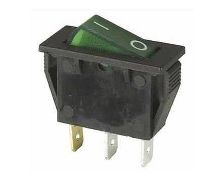 Campervan Electrical Components - LED Rocker Switch