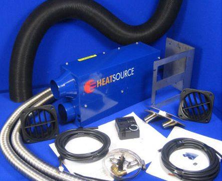 Campervan Gas Parts - Gas Heater