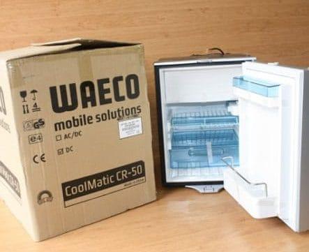 Campervan Refrigeration - Waeco Compressor Fridge