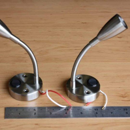 2 x 12V spotlight flexible