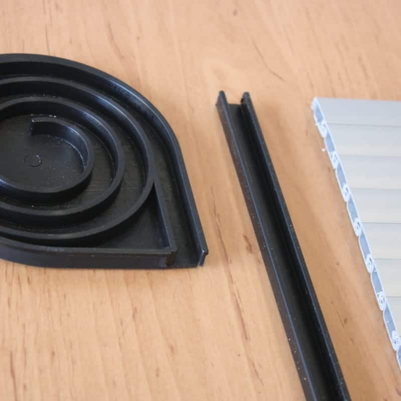Tambour Door Kit Gloss Black For Your Vw Camper Van