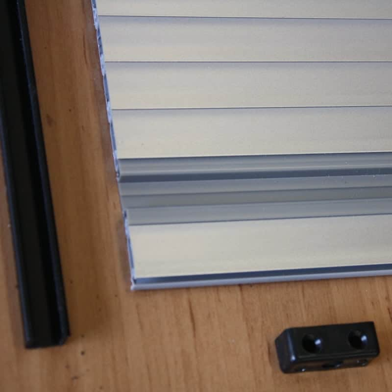 Tambour doors u2013 silver 2 & Tambour Door Slats - 12 x 1000mm Length