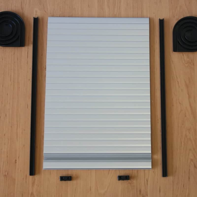 Tambour doors \u2013 silver & Tambour Door Kit - Silver for your VW camper van conversion Pezcame.Com