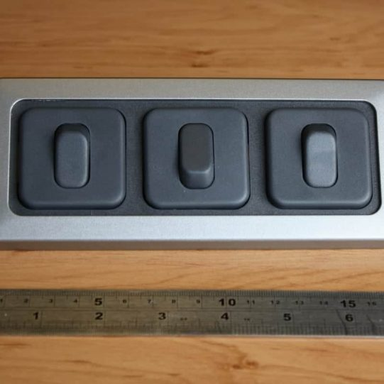 Triple 3 x switch flatline
