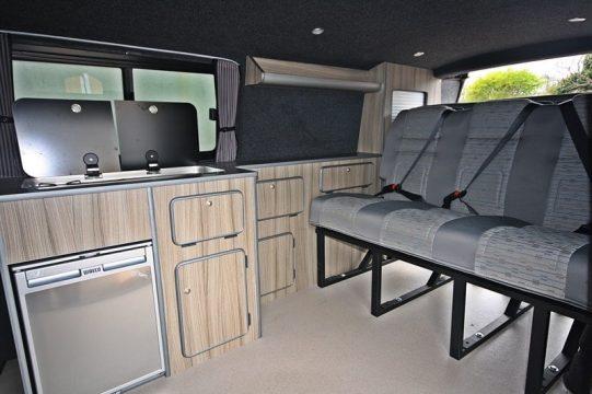 T5 Campervan Conversions Interior