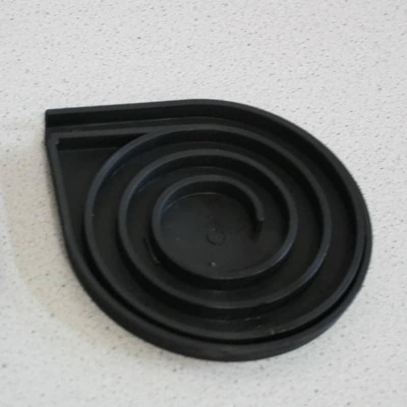 Tambour Door Side Spirals