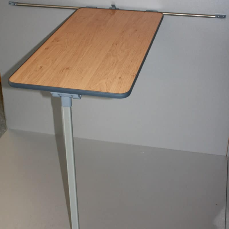 Camper Table And Rail Set Various Colours