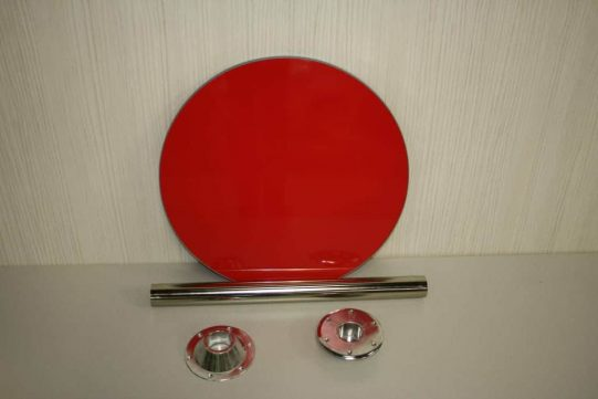 gloss red table