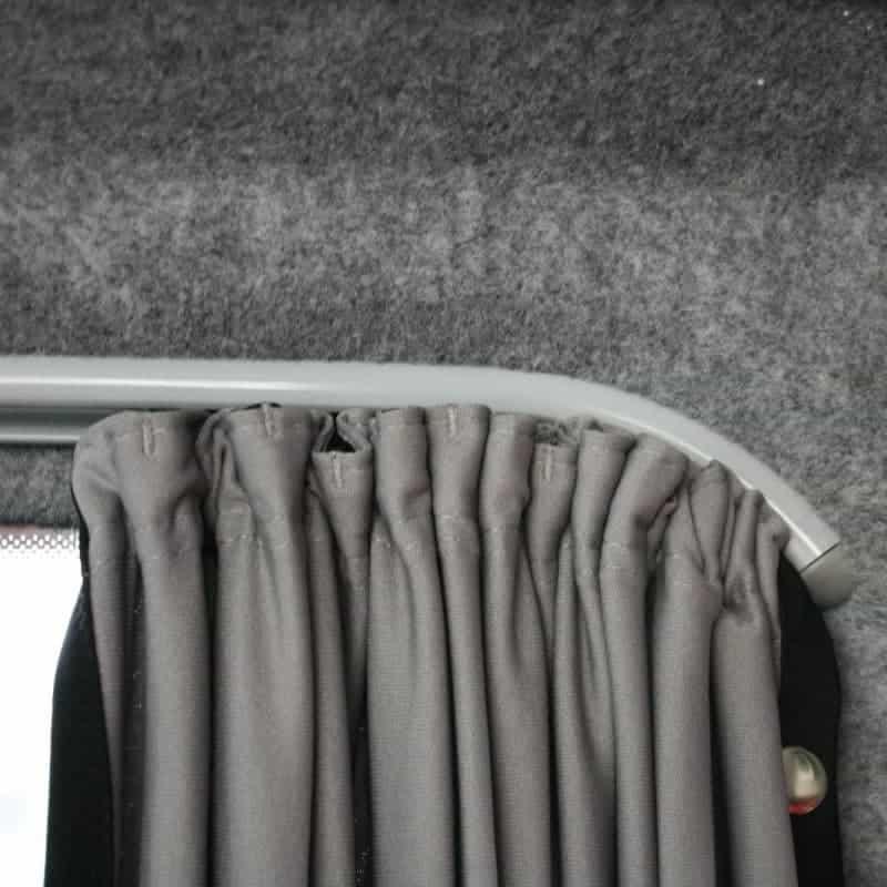 Vw T5 Full Black Out Curtain Set