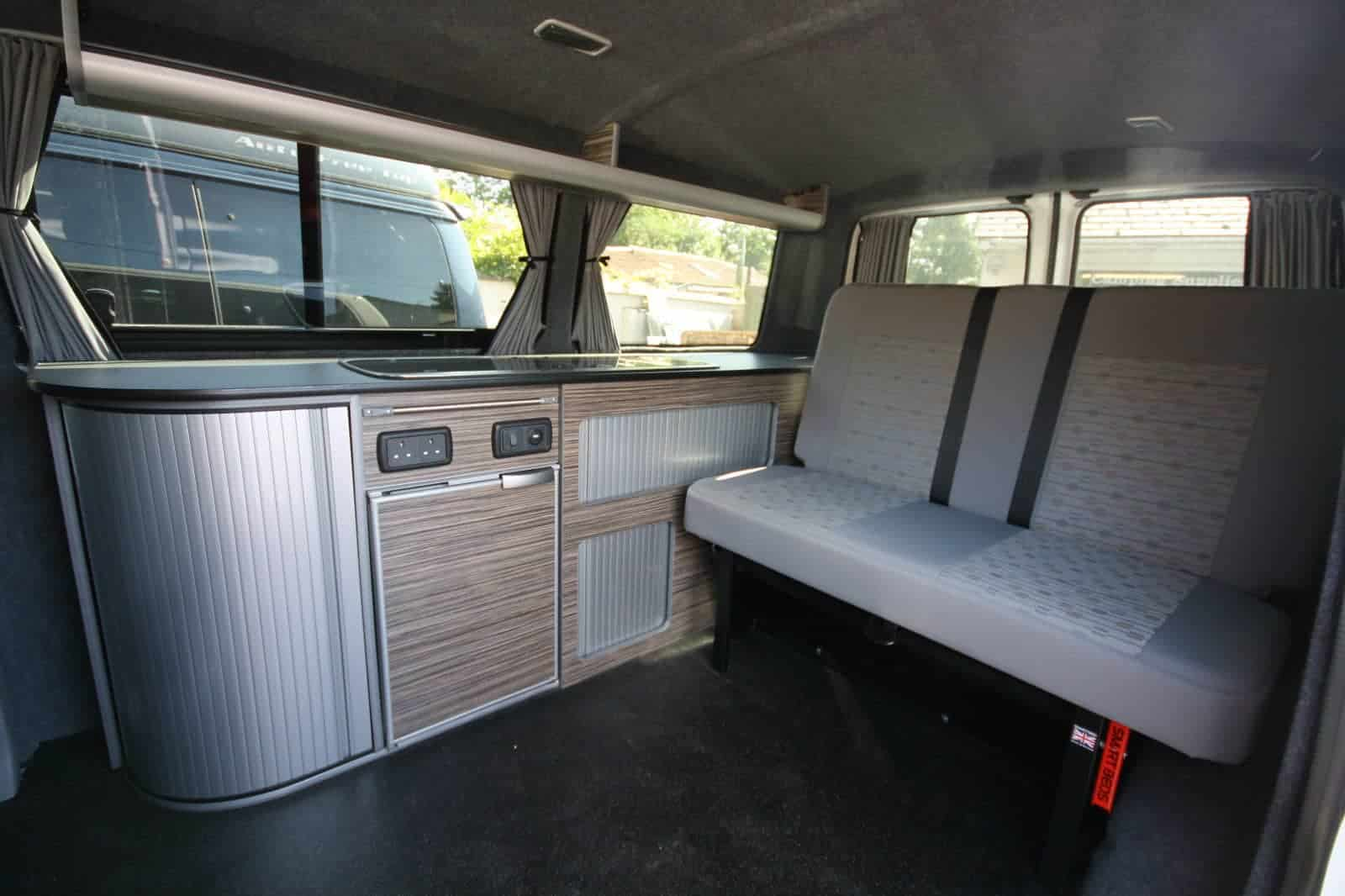 Vw T5 Campervan Example Of Full Conversion Clearcut