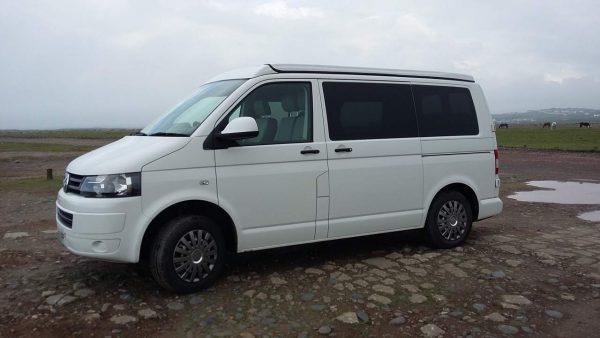 White VW 2