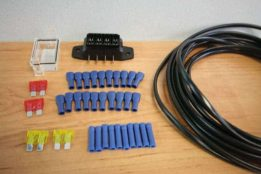 10m x 4 way 12v Wiring Loom Kit EL005
