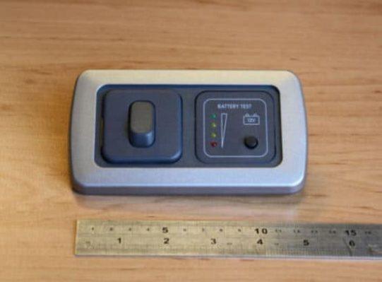 12v Battery Tester Single Switch CBE D SSW BT FLS