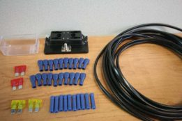 4 Way 12v Fuse Wiring Kit EL007