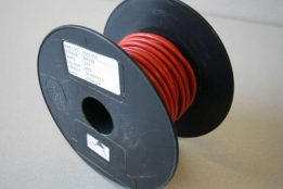 84 Strand Cable Red EL WR 84