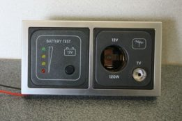 Battery Tester and 12v TV Socket CBE D 12TV BT SQ e1480503821905