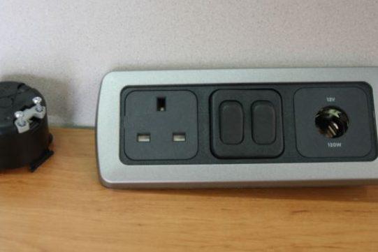 12v Socket 240v Socket Double Switch CBE T 12 240 DSW FLS