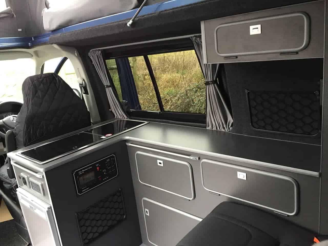 Renault Trafic Camper Van Conversion, Vivaro Camper Conversion