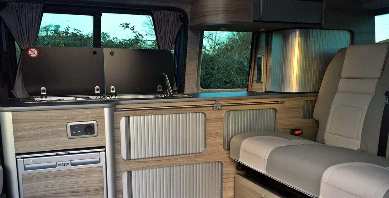 beautiful campervan conversion