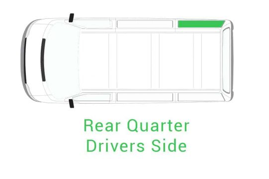 Rear Quarter drivers Side