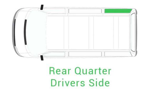 Rear Quarter drivers Side