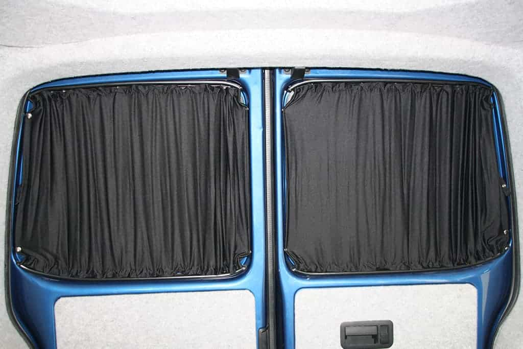 Rear Vw T5 T6 Swb Full Curtain Set 5 Pcs Uk Sliding