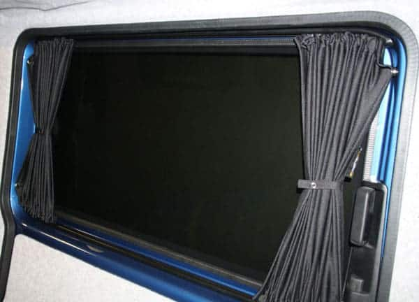 Vw T5 Campervan Blackout Curtain Set Tailgate With Rear