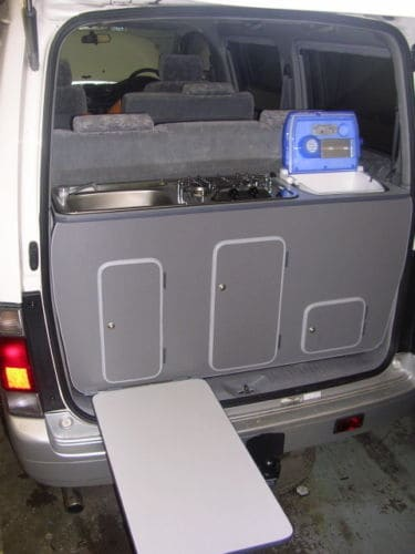 Rear Weekender Mazda Bongo Campervan Conversion