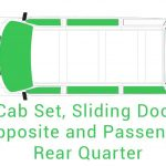 Cab Set Sliding Door Opposite and Passenger Rear Quarter 1
