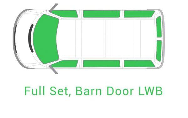 Full Set Barn Door LWB