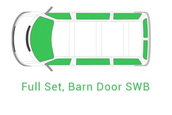 Full Set Barn Door SWB