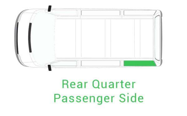 Rear Quarter Passenger Side