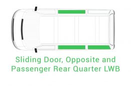 Sliding Door Opposite Passenger Rear Quarter LWB