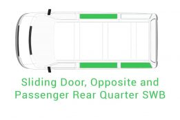 Sliding Door Opposite Passenger Rear Quarter SWB