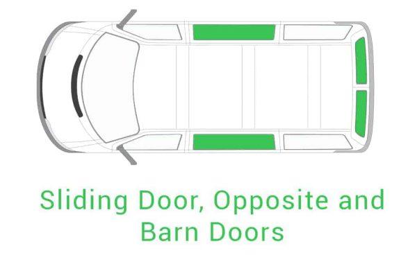 Sliding Door Opposite and Barn Doors