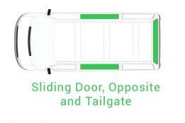 Sliding Door Opposite and Tailgate 1