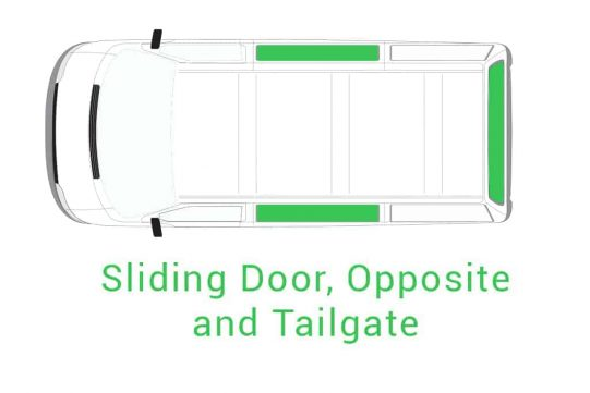 Sliding Door Opposite and Tailgate 1