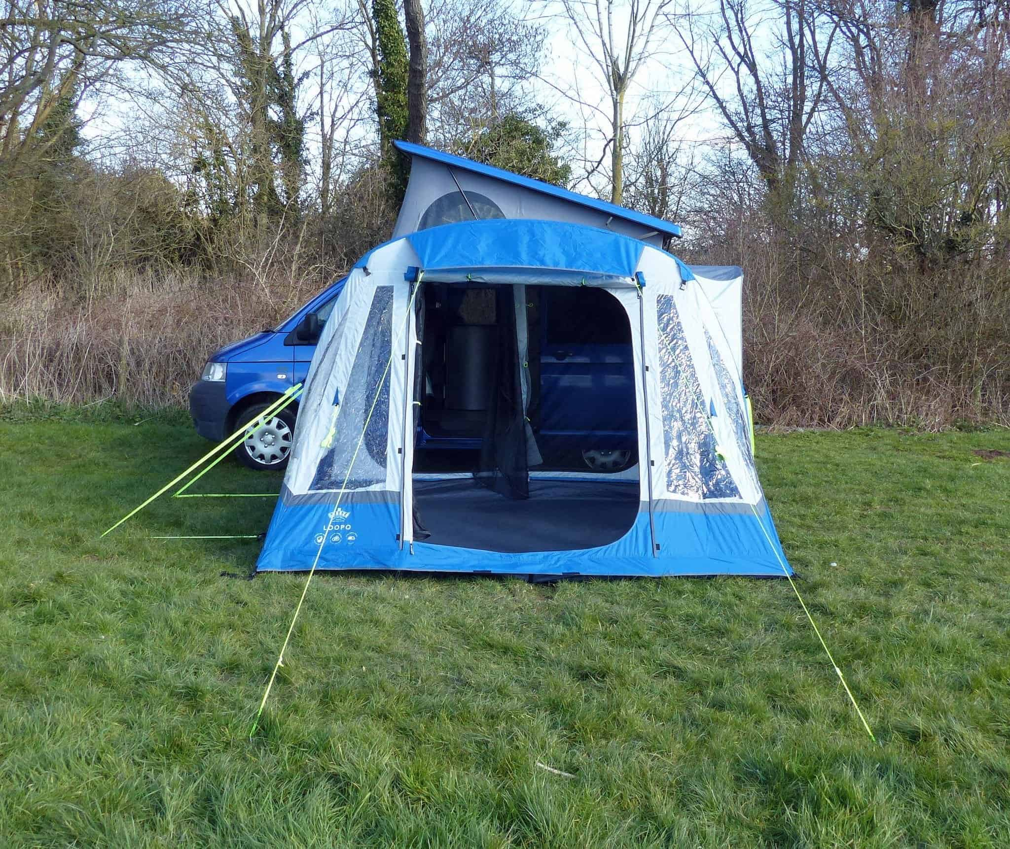 Olpro Loopo Breeze Inflatable Campervan Awning Grey