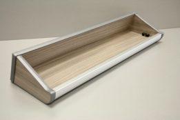 Driftwood shelf