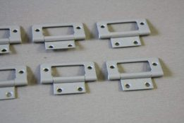 Flush hinge light grey 2