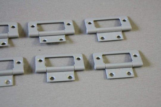 Flush hinge light grey 2