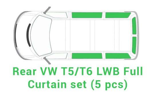 Full Curtain set 5 pcs